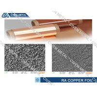 Buy cheap 35um RA treated copper foil for FPC with high deflection from Wholesalers