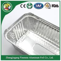 Aluminum foil container Silver Aluminum foil container for food