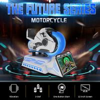 Quality 360 Degree VR Motorcycle Racing Cockpit Driving Simulator for sale