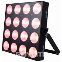 Buy Theatre Professional Lighting 4 x 4 COB 30w RGB 3 In 1 LED Lighting Fixture at wholesale prices