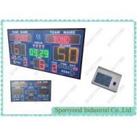 Buy cheap 7 Segment Electronic Digital Basketball Scoreboard And Basketball Shot Clock from Wholesalers