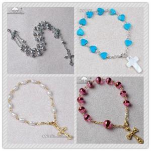 Quality rosary bracelet,  wrist rosary,  rosary bangle,  wrap rosary bracelet for sale