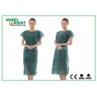 Quality Nonwoven Hospital Isolation Gowns / PP Nursing Hospital Gown For Women , CE Standard for sale