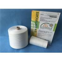 Buy cheap Polyester Knitting / Weaving / Sewing Yarn , 12/4 20/2 Spun Polyester Sewing Thread from Wholesalers