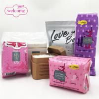 China Different Types Of Ultra Sanitary Napkin OEM Private Label Manufacturing Sanitary Pads Plastic Bag Pouch Tin Box Packagi for sale