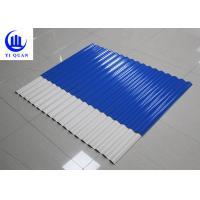 Quality Custom Corrugated Plastic Roofing Sheets Suppliers Matte Or Glazed Surface for sale