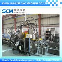 Buy cheap TAPM1516 CNC Punching, Shearing & Marking Line for Angles; cnc angle production line; cnc machine for angle tower from Wholesalers