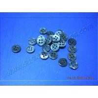 Quality Black MOP Shell Buttons with 4 Holes Wholesales for sale