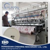 Quality 2.4 Meters Industrial Quilting Machines , Comforters Lockstitch Sewing Machine for sale