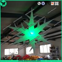 Quality Inflatable Snowflake With LED Light,Lighting Inflatable Snow Flower for sale