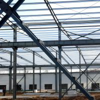 Quality Fabricated Light Type Q235 Q345 Pre Built Metal Buildings Prefabricated Steel Structure for sale