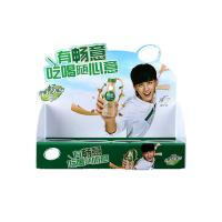 China customized pvc display stand rectangle counter box clear food for sale