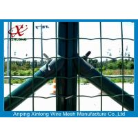 Quality Custom Euro Panel Fencing , Galvanized Welded Wire Mesh Rolls Anti Thief for sale