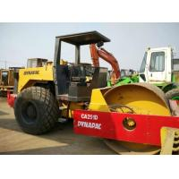 China Open Cabin Used Road Roller , New Paint Drum Roller CompactorDynapac CA251D on sale
