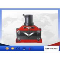China Remote Control Hydraulic Angle Steel Cutter Copper Bus Bar Cutting Tools CAC-110 on sale
