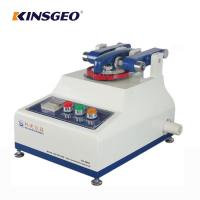 Rubber And Leather Testing Machine , Electronic Taber Abrasion Resistance Tester