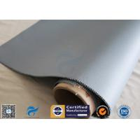 Buy cheap 4HS Satin Weave 1.2m*50m High Temp. 260℃ Silicone Coated Fiberglass Fabric from wholesalers