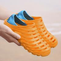 Quality Breathable Garden Clog Slippers Massage Particles Inside Long Life Span for sale