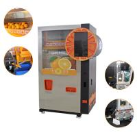 Quality Visible Juicing Process Healthy Orange Juice Vending Machine Wifi Coins Bank Notes Payment for sale