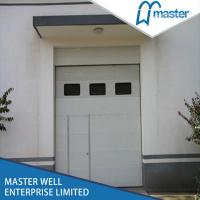 Pu forming steel industrial sectional door fire for 15 x 7 garage door price