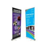 Quality Innovative Advertising Stand Up Banners Convenient To Transport Attractive Easy Carry for sale