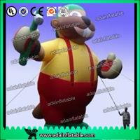 Quality 5M Giant Advertising Inflatable Mouse/Customized Inflatable Animal for sale