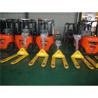 Quality Hand Operated Industrial Pallet Jack , Small 1-2 Ton Walkie Rider Pallet Jack for sale