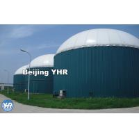 China Glass Fused Steel Biogas Digester Septic Tank500 KN / Mm Elasticity on sale