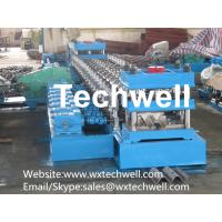 Quality Steel Sigma Profile Roll Forming Machine for Making Highway Guardrail With 16 Steps Forming Station for sale