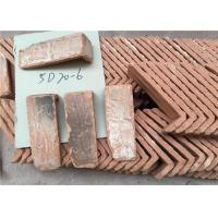 Quality Culture Surface Clay Brick Tiles , Quoined Brick Corners For Indoor / Outdoor Wall for sale