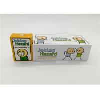 Quality Customized Cyanide And Happiness Cards With Different Size Paper Card Material for sale