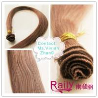 Quality China Human Hair Hand Tied Weft Hair Extension for sale