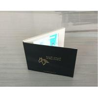 Quality CMYK Printing Digital Lcd Video Brochure With Magnetic Switch / Light Sensor for sale