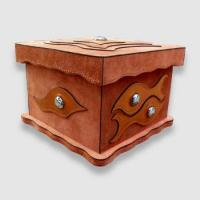 Buy suitcase kids art storage box at wholesale prices