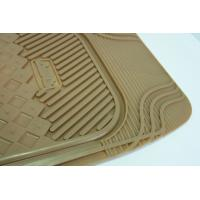 Quality Personalised Yellow Rubber Car Mats , Anti Fatigue Floor Matting for sale
