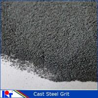 Quality Blast material Abrasive steel GRIT for steel surface G120 for sale