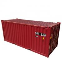 Quality DNV Certificate 39.90CBM 20ft Container Red color Corten-A Material New Condition for sale