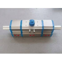 Quality Rack and Pinion Three Position Type Pneumatic Actuator with ISO5211 for sale