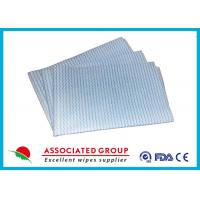 Quality Household Printing Non Woven Cleaning Wipes , Disposable Spunlace Nonwoven Wipes for sale