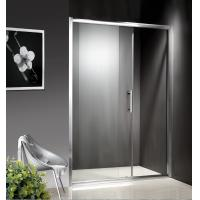 China 1200-1800X1950mm Replacement Sliding Glass Shower Doors , Shower Cubicle Doors With Double Wheels on sale