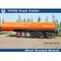 Quality Diesel fuel gasoline tank trailer with 30000 liters - 42000 liters capacity for sale