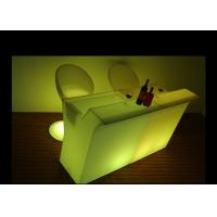 Glowing Illuminated Outdoor Furniture Modern Commercial Led Light Up Chairs