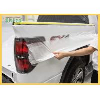 China Automotive Spray Protective Car Painting Protection Masking Film on sale