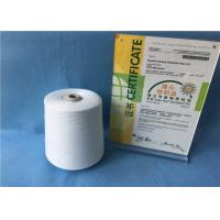 Buy cheap Raw White 12/3 100 PCT Polyester Spun Yarn for Sewing Thread 1.33D× 38mm from Wholesalers