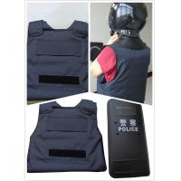 Quality Military Police Safety Protection Products Concealable Stab Proof Vest Soft Body Armor for sale