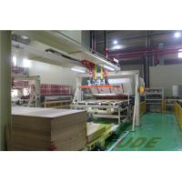 Quality Single Layer PB / MDF Board Laminating Line , Hot Press Lamination Machine for sale