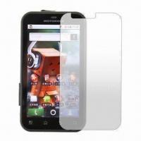 Quality Screen Protector/Screen Guard for Cameras, Precise Die-cut to Fit for Motorola for sale