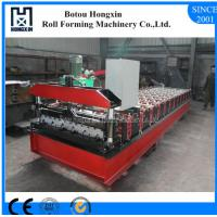 Quality Profile Roofing Sheet Manufacturing Machine 8 - 12m / Min Working Speed for sale