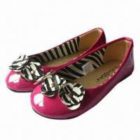Quality Children's shoes with PU upper and fabric lining, in various colors, designs and styles for sale