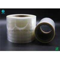 Quality Non - Toxic BOPP Holographic Film For Cigarette Machine / Hand 3% - 10% Shrinkage Rate for sale